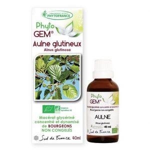 aulne - phytogem - gemmotherapie - phytofrance