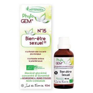 bien etre sexuel - phytogem - gemmotherapie - phytofrance