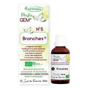 bronches - phytogem - gemmotherapie - phytofrance