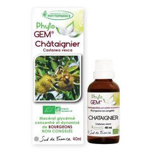 chataignier - phytogem - gemmotherapie - phytofrance