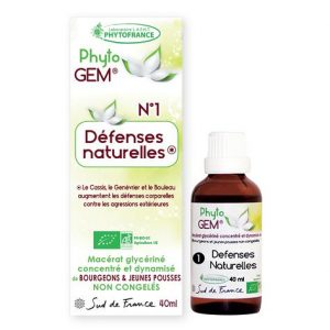 defenses naturelles - phytogem - gemmotherapie - phytofrance