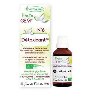detoxicant - phytogem - gemmotherapie - phytofrance