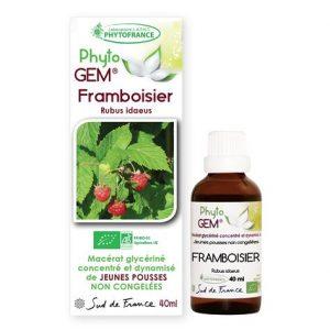 framboisier - phytogem - gemmotherapie - phytofrance