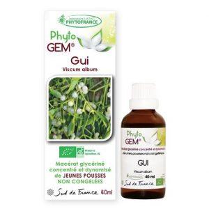 gui - phytogem - gemmotherapie - phytofrance