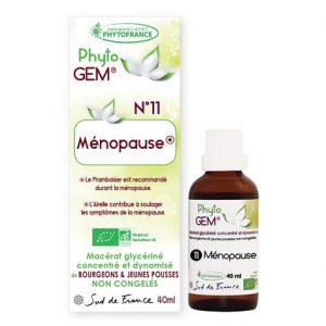 menopause - phytogem - gemmotherapie - phytofrance