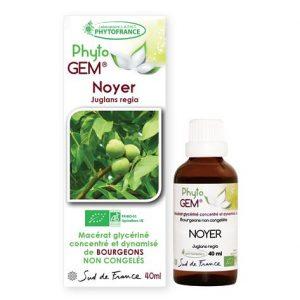 noyer - phytogem - gemmotherapie - phytofrance