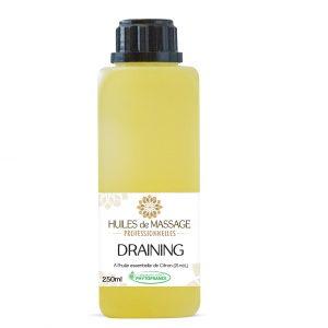 phytofrance - huile-massage-pro 250ml - draining