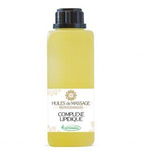 phytofrance -huile massage pro - complexe lipidique - 250ml