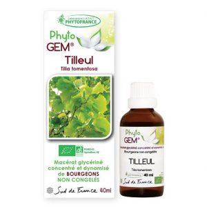 tilleul - phytogem - gemmotherapie - phytofrance