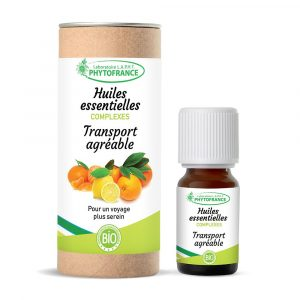 transport agreable - complexe huile essentielle - thera - phytofrance