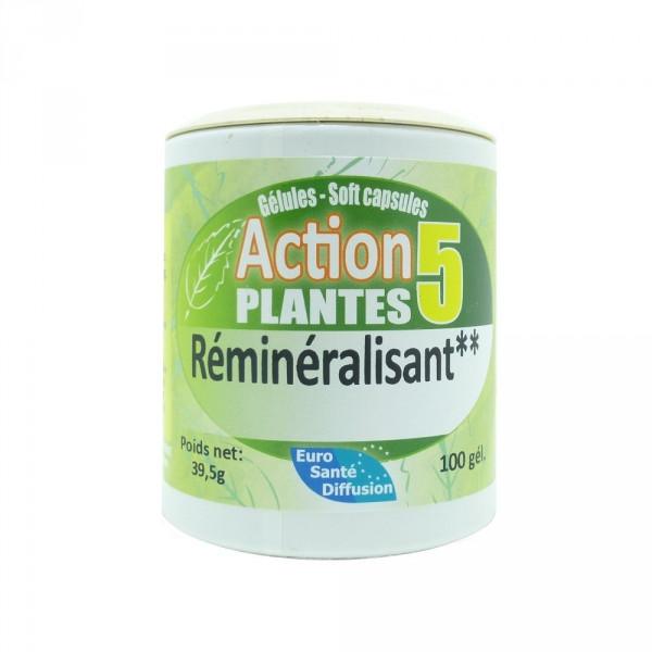 Action 5 plantes Euro Santé Diffusion