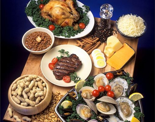 Aliments contenant du zinc