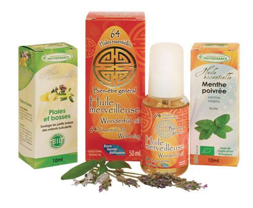 Produits aromathérapie LAPHT Phytofrance