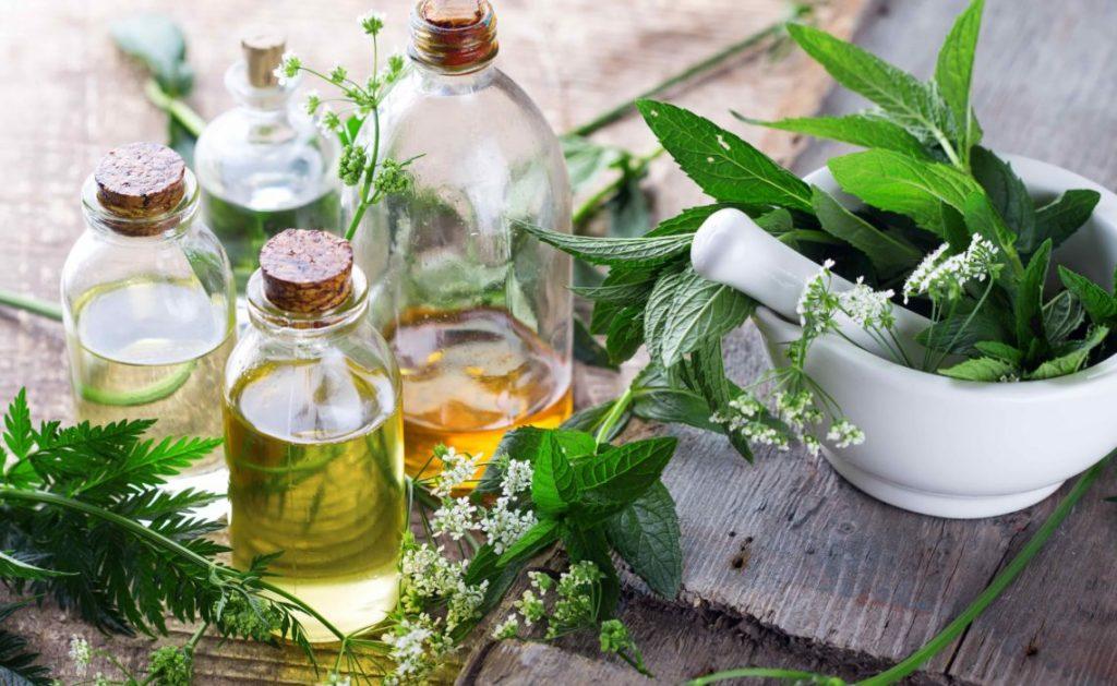 Ensemble de produits cosmétiques bio