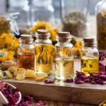 huiles végétales type peau