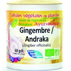 Andraka - gelules de plantes ayurvediques - euro santé diffusion
